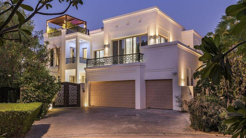 Upgraded Bromellia Villa, Dubai, available through Gulf Sotheby's International Realty, $9.8m