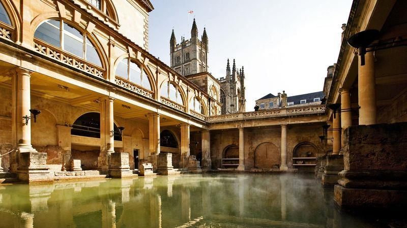 Bath's original Roman baths