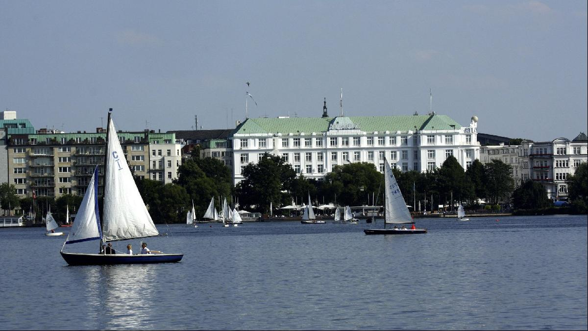 The Aussenalster lake