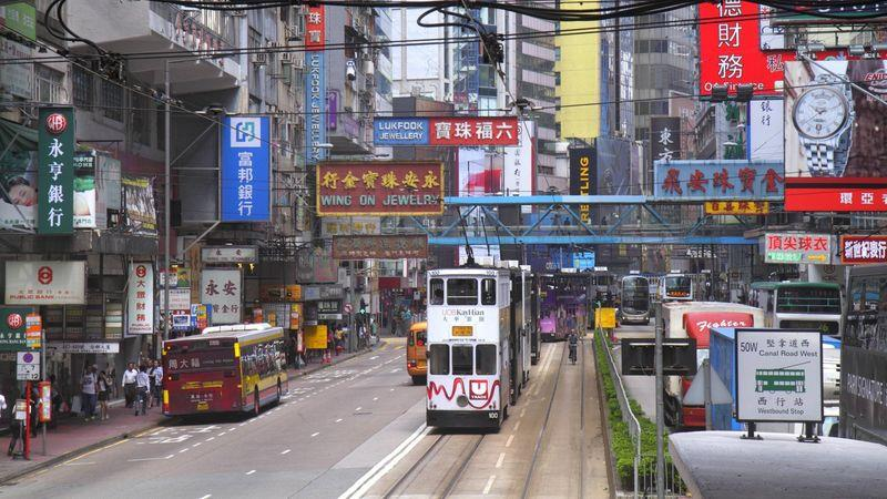 Hong Kong is home to more than 7m people