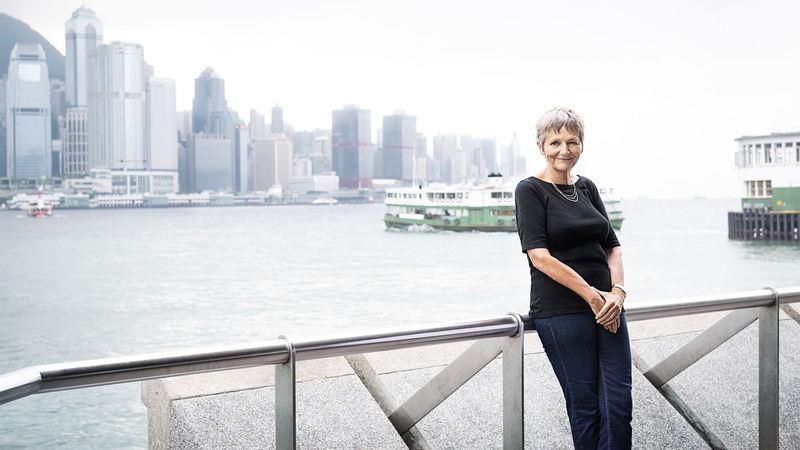 Nicola Nightingale in Hong Kong