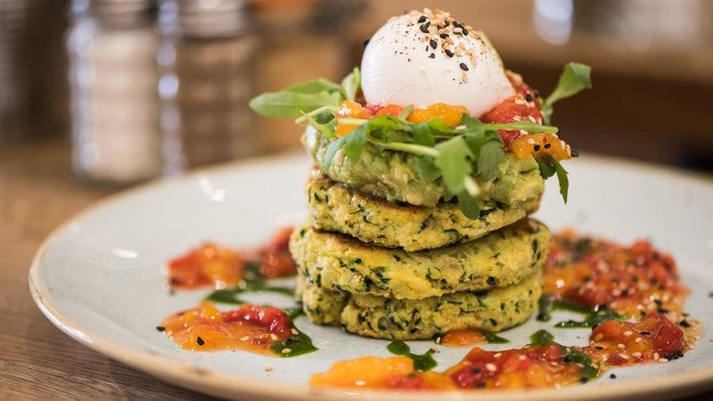 Local Hero's courgette fritters