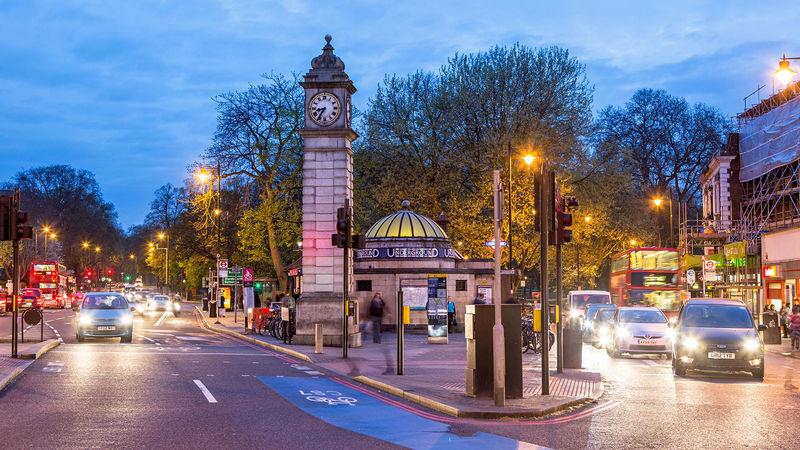Clapham, a popular home for young professionals