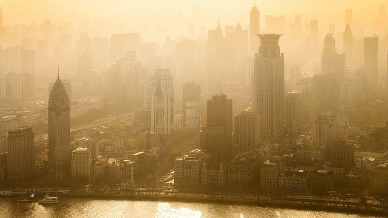 Shanghai's air pollution is one of its biggest drawbacks