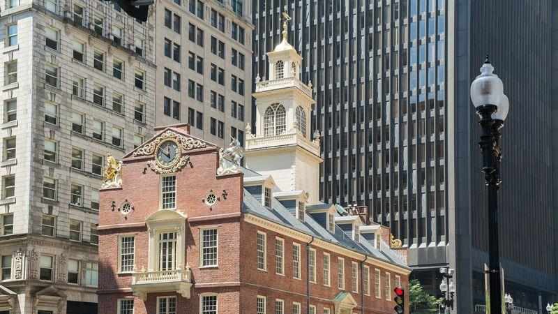 Old State House on the Freedom Trail