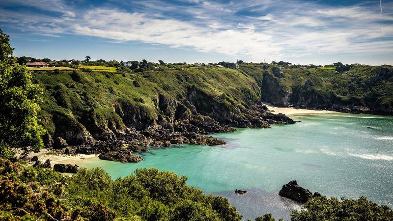 Moulin Huet, the cove that inspired French painter Renoir