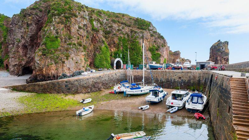 The island of Sark, a 50-minute ferry ride from Guernsey