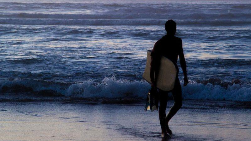 A warm climate and Atlantic waves make the city a world-class surfing destination