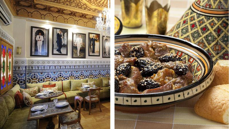 Le Cuisto Traditionnel offers traditional Moroccan cuisine