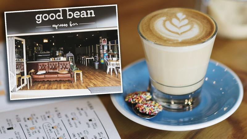 The Good Bean café in Mooloolaba