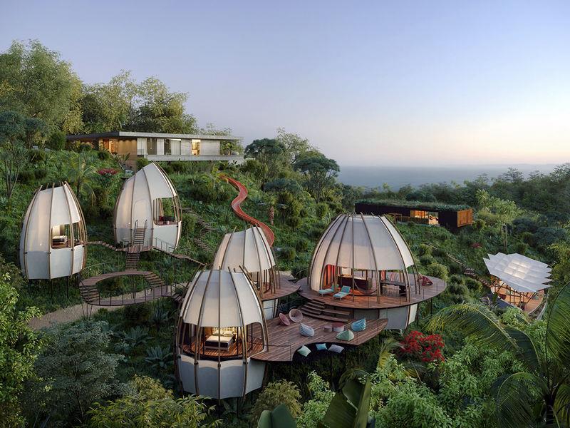 """""""Coco"""", dream villas in the Costa Rican jungle"""