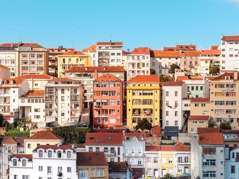 The average price of properties for sale in Portugal