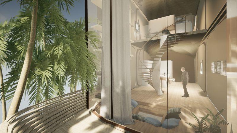 Zaha Hadid Architects' New Roatán Residence