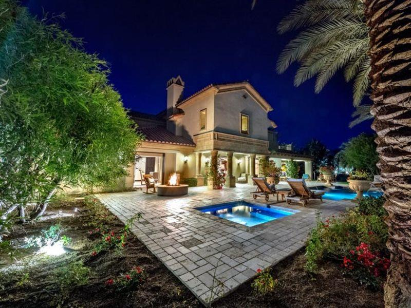 Sylvester Stallone La Quinta Desert Retreat