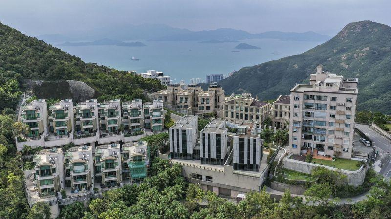 Luxury home sales in Hong Kong