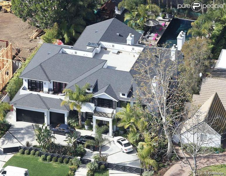 Johnny Hallyday Pacific Palisades home