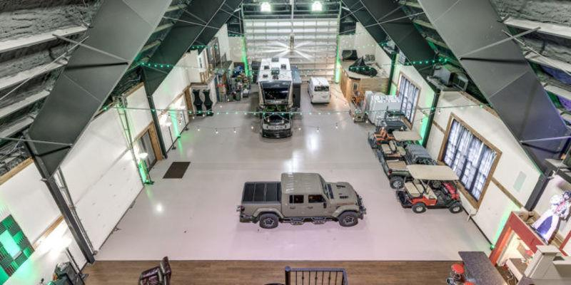 Milam Castle garage