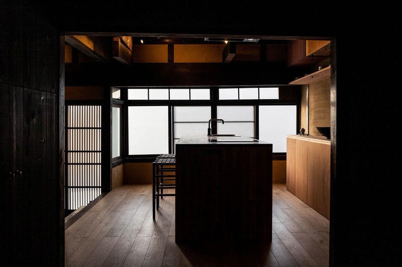 Century-old Japanese dwelling transformed into minimalist guesthouse