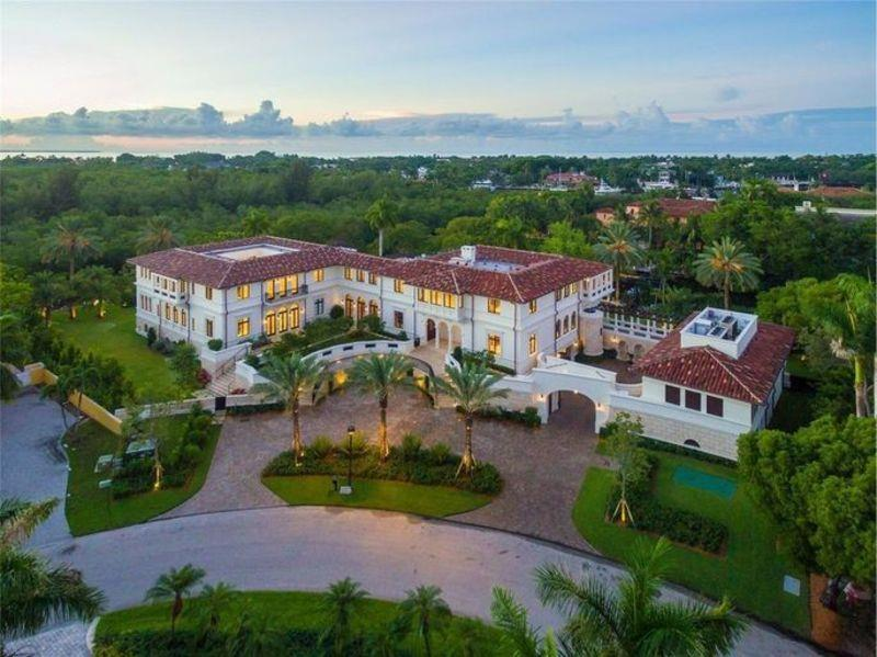 Marc Anthony Lists Waterfront Coral Gables Villa for $27 Million