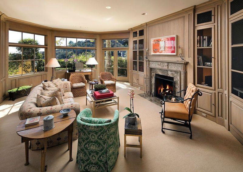 Norman Lear Brentwood California Estate