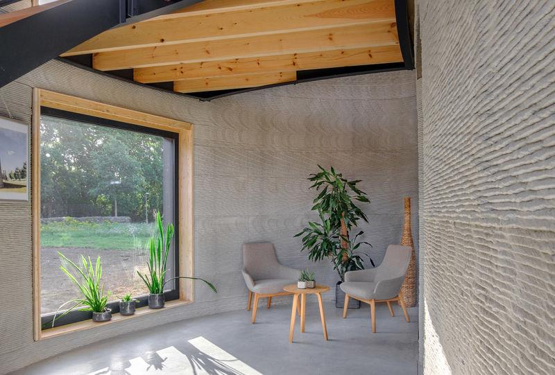 3D-printed model home by Kamp C in Westerlo