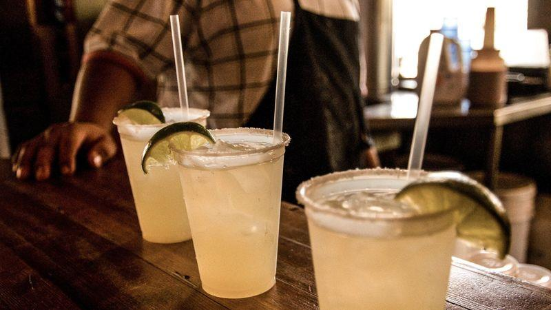 Margaritas are the house wine of Austin