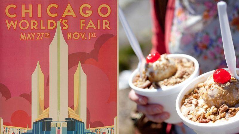 Frozen custard was introduced to the mass market at the World's Fair in Chicago in 1933