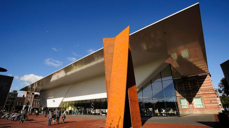 The Stedelijk Museum is dedicated to modern art and design