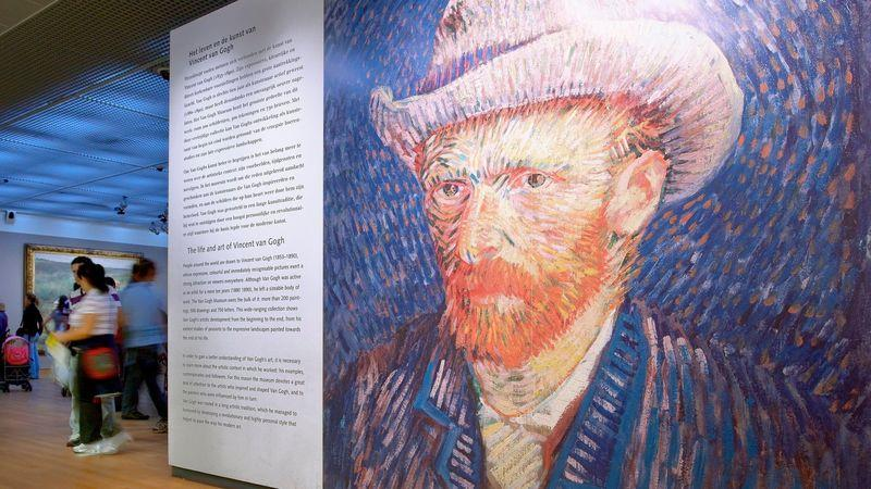 The Van Gogh Museum houses the world's largest collection of works by the Dutch post-Impressionist