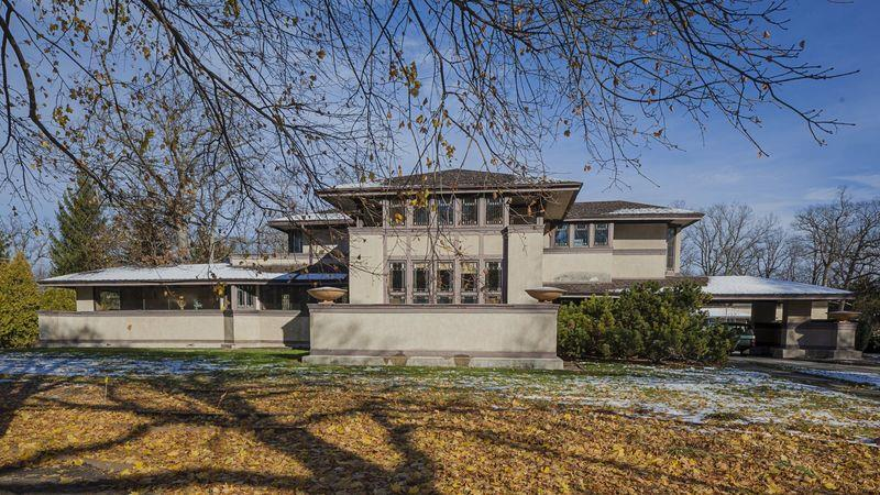 The Willits by Frank Lloyd Wright