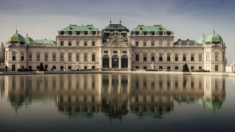 The Belvedere Palace