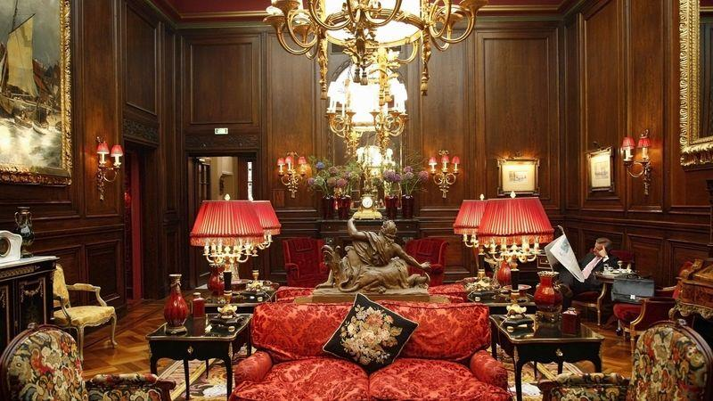 The lobby of Hotel Sacher