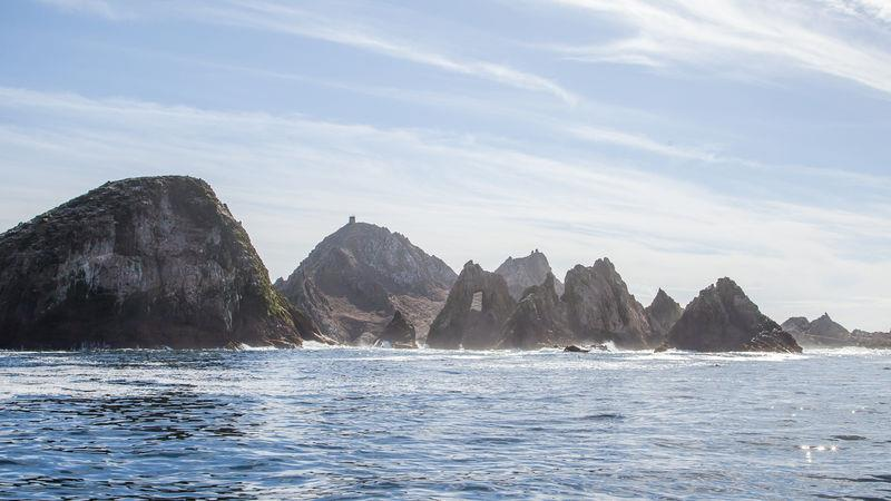 Farallon Islands off the coast of San Francisco