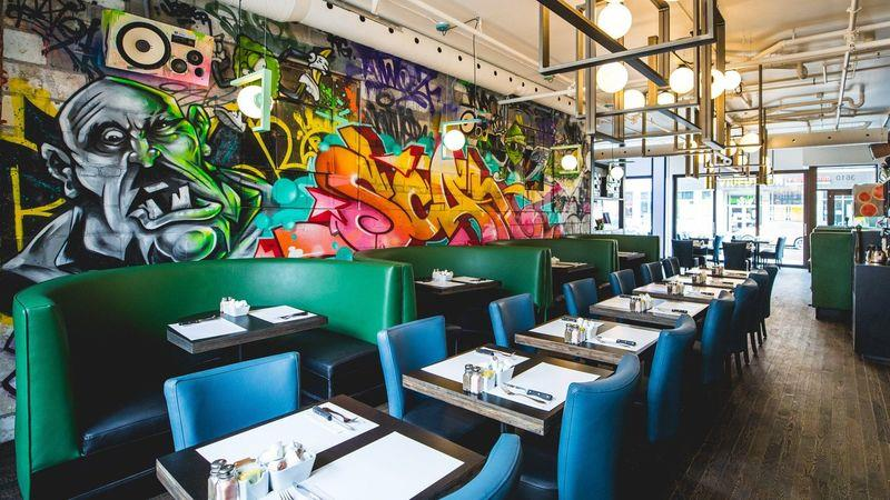 L'Avenue, an upmarket brunch spot