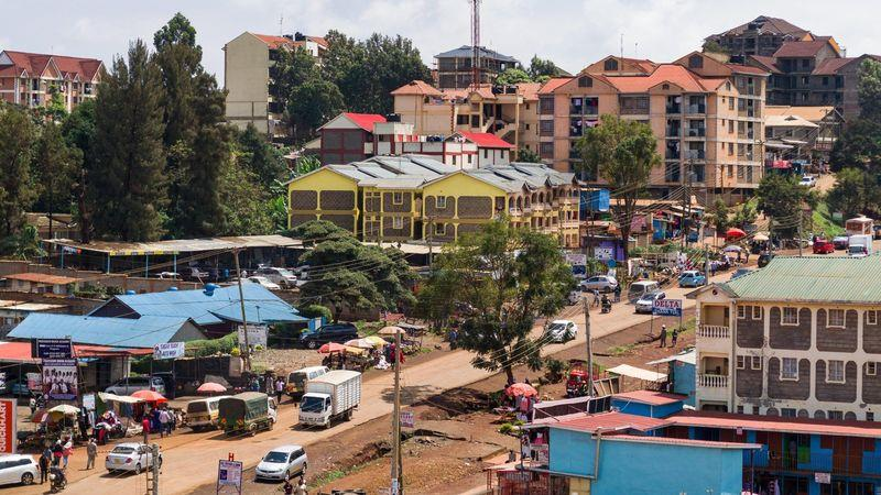 Nairobi's satellite towns, such as Ruaka, have experienced drops of between 2 and 3 per cent in the past year