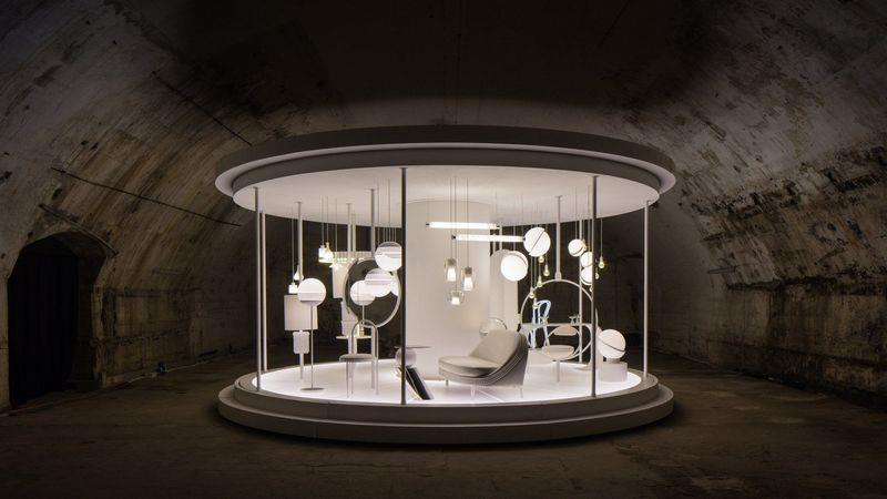 The Time Machine exhibition at the Salone Del Mobile