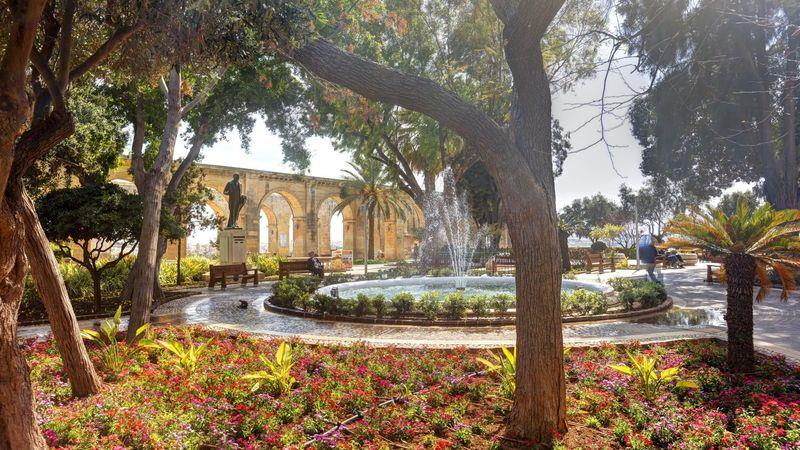The Upper Barrakka Gardens