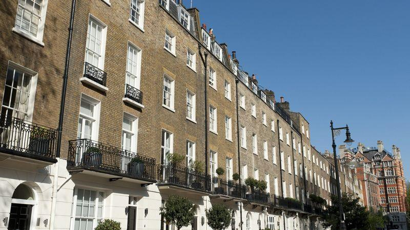 Slow moving: homes in London's super-prime Belgravia are taking a year or more to sell