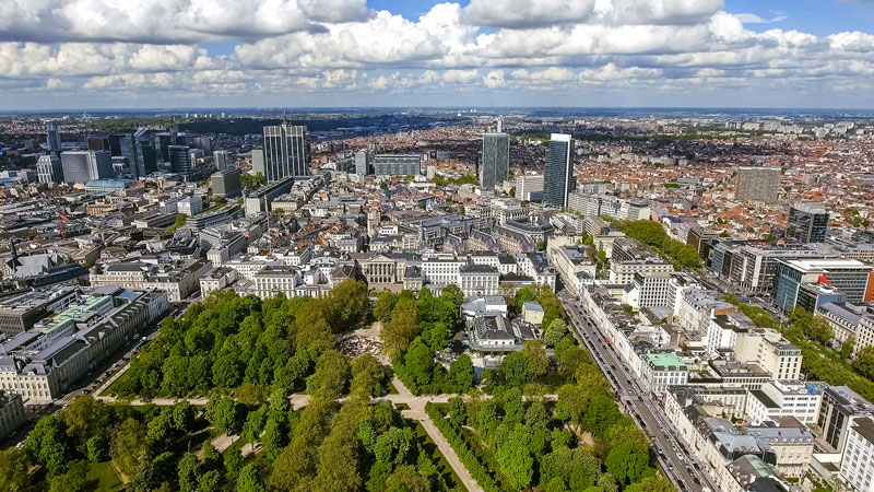 """Quieter and greener"" Brussels"