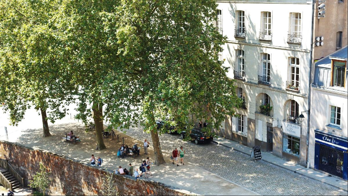 Apartments in Nantes average less than a third the cost of those in Paris