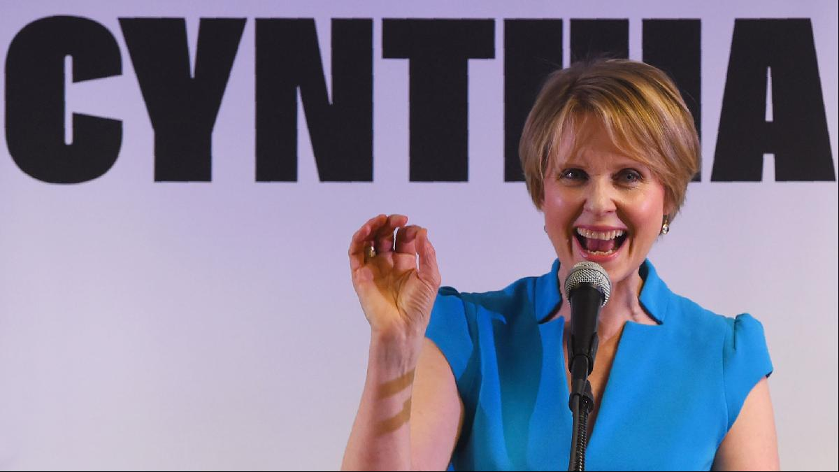 Cynthia Nixon has expressed left-leaning housing policies