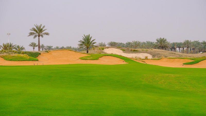Golfers can enjoy lush championship courses in the desert