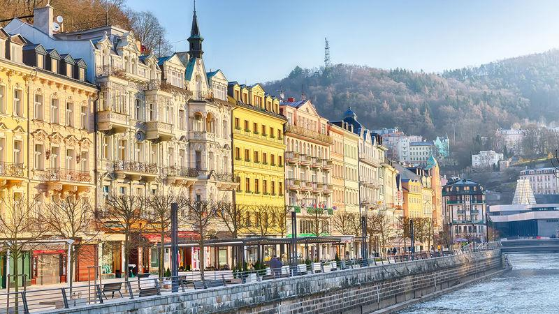 Prices are surging in the Czech Republic. Pictured: Karlovy Vary