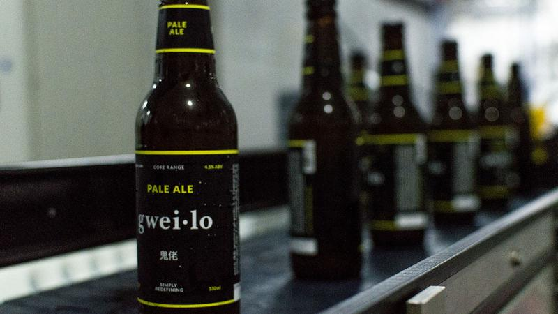 The Gweilo Beer company was founded by westerners
