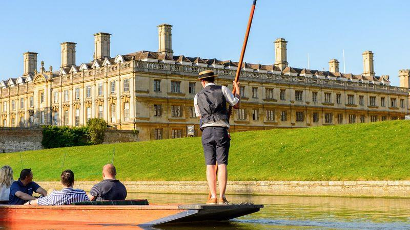 Punting is the relaxing way to navigate the city