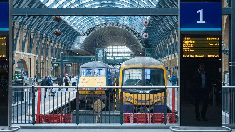 London's King's Cross is 50 minutes away by train