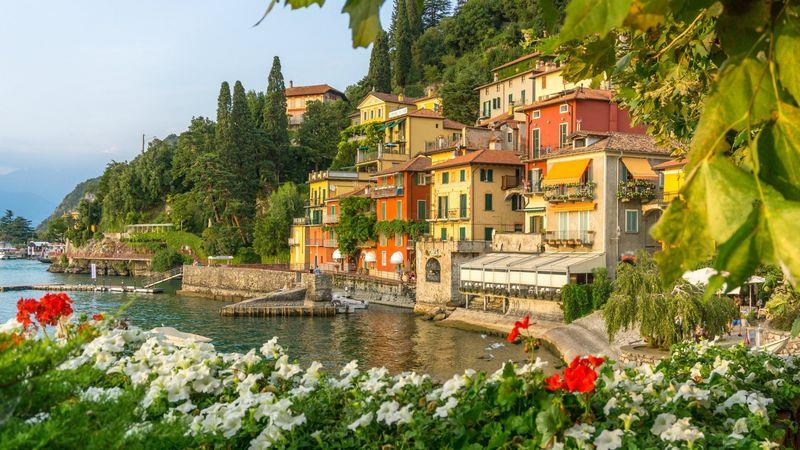 Lake Como is an hour's train ride from Milan