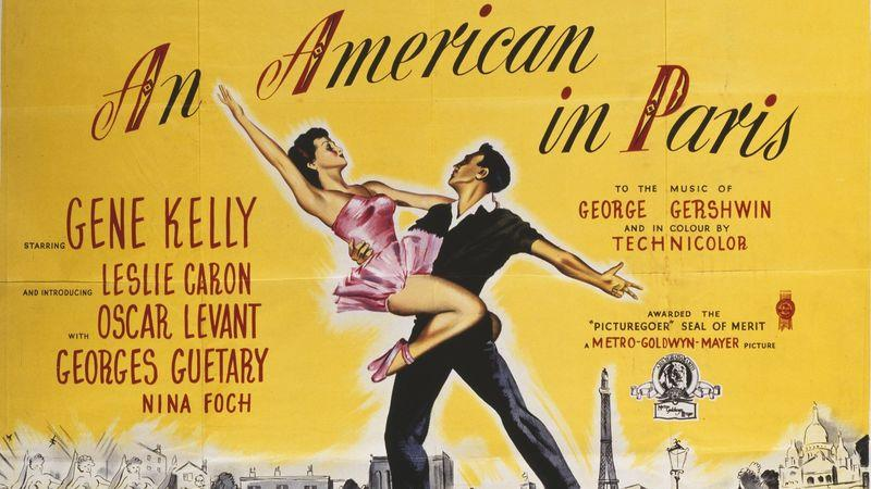 A poster for the 1951 musical film