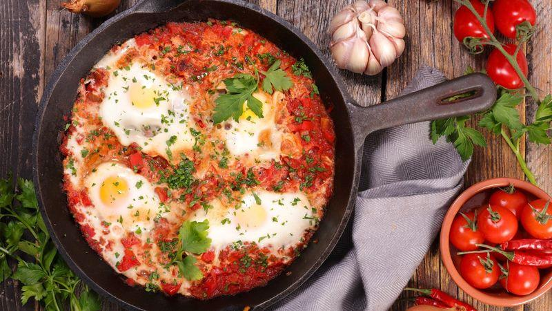 Shakshuka is a breakfast favourite, especially with clubbers