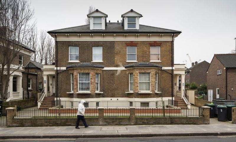 Empty London homes